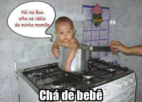 chá de criança