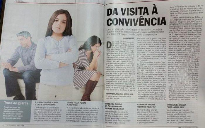 Revista VEJA - Guarda compartilhada
