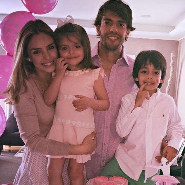Jogador de futebol Kaká quer a Guarda Compartilhada dos filhos