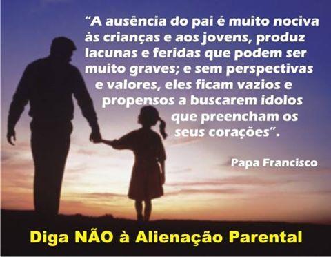 Papa fala sobre alienação parental